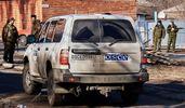 Авто ОБСЕ попало под обстрел в зоне АТО