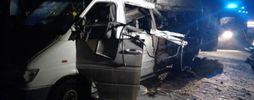 Фура столкнулась с микроавтобусом на Днепропетровщине, много жертв