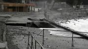 Опублікували промовисті фото зруйнованої набережної в окупованому Криму
