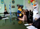 Херсонські чиновники вигнали з міської ради невідомих в костюмах казкових звірят
