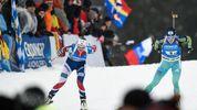 Кубок мира по биатлону. Украинки снова потеряли медали в эстафете