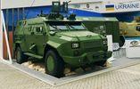 """""""Укроборонпром"""" похизується безпілотним БТРом на виставці в ОАЕ"""