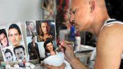 Нежная Эмма Уотсон и мужественный Орландо Блум: невероятные куклы художника