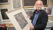 У відомого українського художника вкрали понад сотню картин: з'явились цікаві деталі