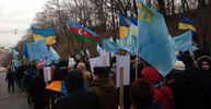 Крым – это Украина: появились фото  Марша солидарности с крымскотатарским народом