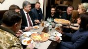 Порошенко с Полтораком перекусили в пиццерии