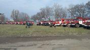 Чрезвычайники потушили 16 пожаров:  в Балаклее слышно по два взрыва в час