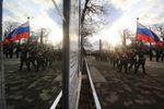 По Симферополю прошла колонна военной техники: опубликовано видео