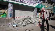 """В """"Азові"""" прокоментували падіння муру біля головного офісу """"Сбербанку"""""""