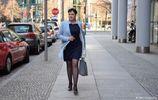 Савченко в платье и на каблуках посетила Берлин