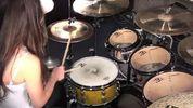 Украинская школьница приняла участие в Международном конкурсе барабанщиц