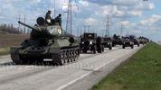 Террористы в Донецке готовятся к параду: засветили российскую технику