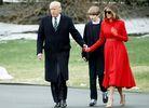 Меланія Трамп привселюдно проігнорувала свого чоловіка: опубліковано відео