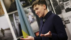 Савченко обнародовала свою декларацию