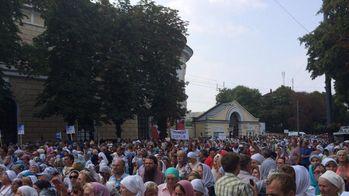 Хресна хода дійшла до Лаври в Києві