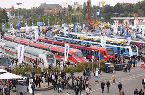 """Переможці проекту """"Залізничник"""" відвідали виставку InnoTrans в Берліні"""