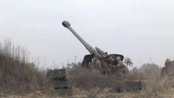 Як навчаються артилеристи: потужне відео гарматних залпів