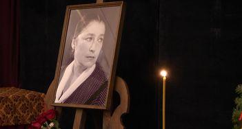 Как в Киеве прощались с Валерией Заклунной