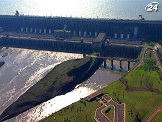 Гребля Итайпу - самая мощная гидроэлектростанция в мире