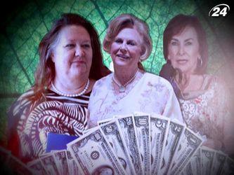 ТОП-7 найбагатших жінок у 2013 році