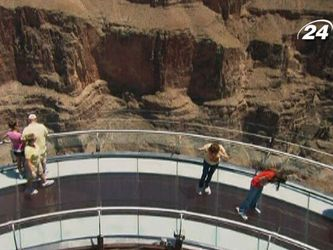 Рукотворное чудо - мост над Большим каньоном