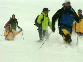 Прогулянки на снігоступах – тиша, усамітнення і недоторканий сніг