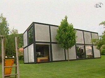 Уникальный дом, сложенный из кубов