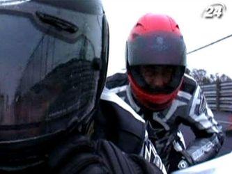 Перегони на мотоциклах з колясками - заняття не для слабкодухих