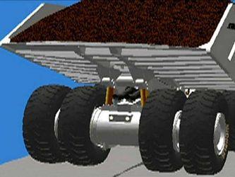 Велетенська вантажівка для шахт: виглядає як автобус, важить 10 т та коштує півмільйона фунтів