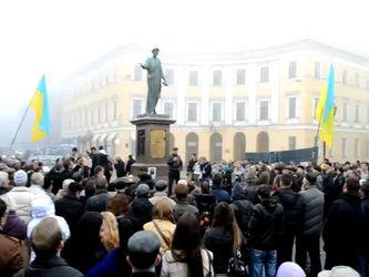 Территория непокоренных. Протестные площади в Одессе