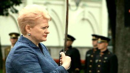"""Історії успіху. """"Залізна леді"""" Литви Даля Грибаускайте"""