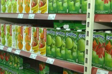 Агроновости. В Украине падает потребление соков