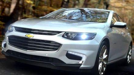 Автотехнологии. Компания Chevrolet представила седан Malibu нового поколения