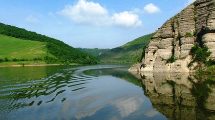 В Украине есть своя пустыня, вулкан и каньон