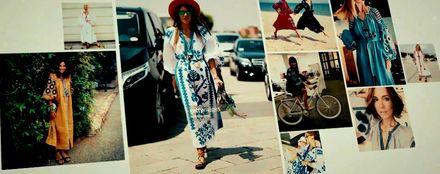 Українка Віта Кін перетворила вишиванки на модний тренд