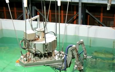 Робот, що очищає наслідки на Фукусімі, браслет, який допоможе людям з обмеженими можливостями