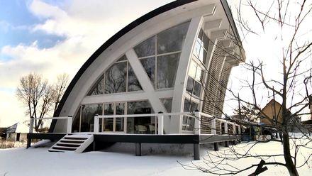 Енергоефективні будинки з інноваційним дизайном стають модними в Україні