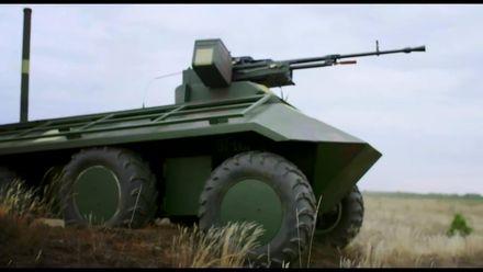Українці розробили безпілотний міні-БТР для завдань на передовій