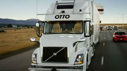 Доставка будущего: впервые беспилотный грузовик сделал успешный рейс