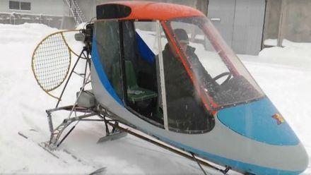 Изобретатель из Полтавы создал уникальные аэросани