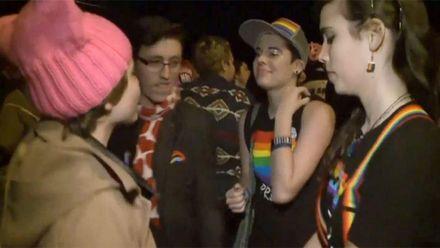 Представники ЛГБТ-спільноти влаштували вечірку перед будинком Пенса