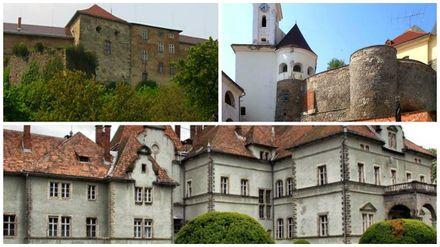 Удивительные замки Закарпатья: дворец Шенборна, замки Мукачевский и Ужгородский