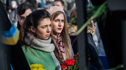 Как Киев отдавал дань Героям Евромайдана: появились фото