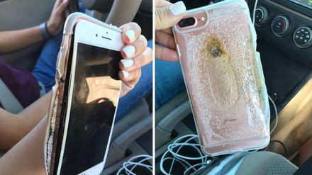 В США начали взрываться iPhone 7: появилось видео