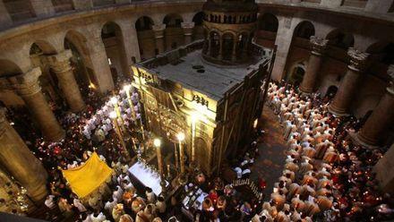 В Иерусалиме завершили реставрацию Гроба Господнего