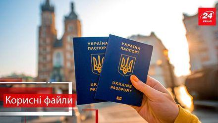 Полезные файлы. Какие документы потребуются украинцам для путешествий по Европе без виз
