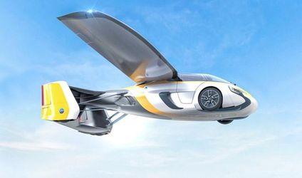 Разработчики представили машину, которая летает: появились первые фото