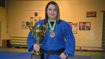 Українка стала чемпіонкою Європи з самбо