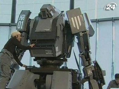 Японские инженеры построили 4-тонного трансформера