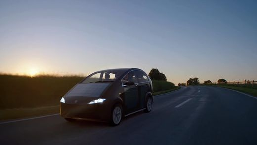Авто з оленячим мохом та сонячними батареями може з'явитися у продажі